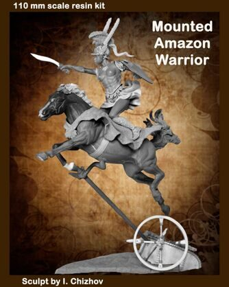 Mounted Amazon Warrior