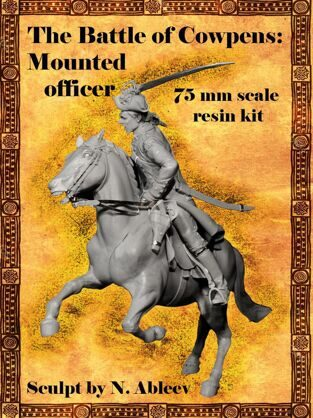 The Battle of Cowpens: Mounted officer