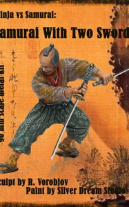 Ninja vs. Samurai: Samurai with two swords